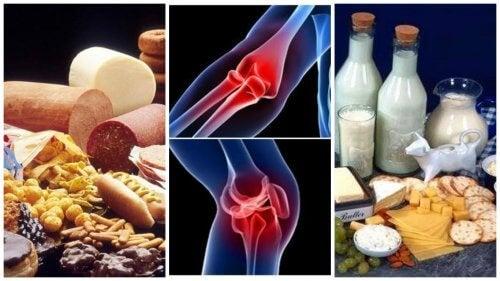 Alimentele care iti provoaca dureri articulare