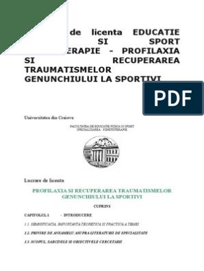 evaluarea produselor sportive pentru articulații și ligamente homeopatie pentru leziuni la genunchi