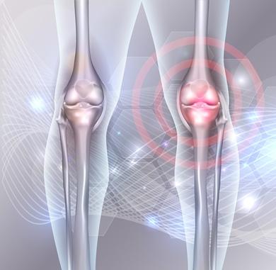 atrăgând dureri la genunchi