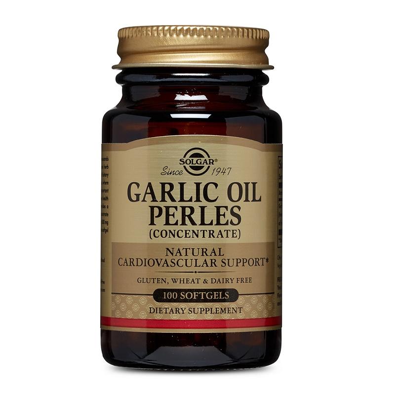 Garlic Oil Capsule (Ulei de Usturoi – Capsule Moi)