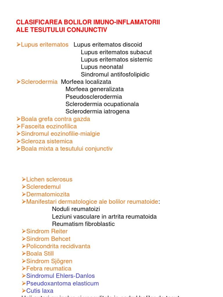 Boala țesutului conjunctiv - Connective tissue disease - infostraja.ro