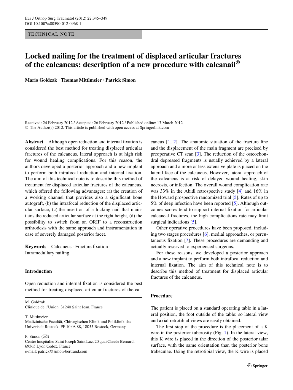 tratament articular policlinic