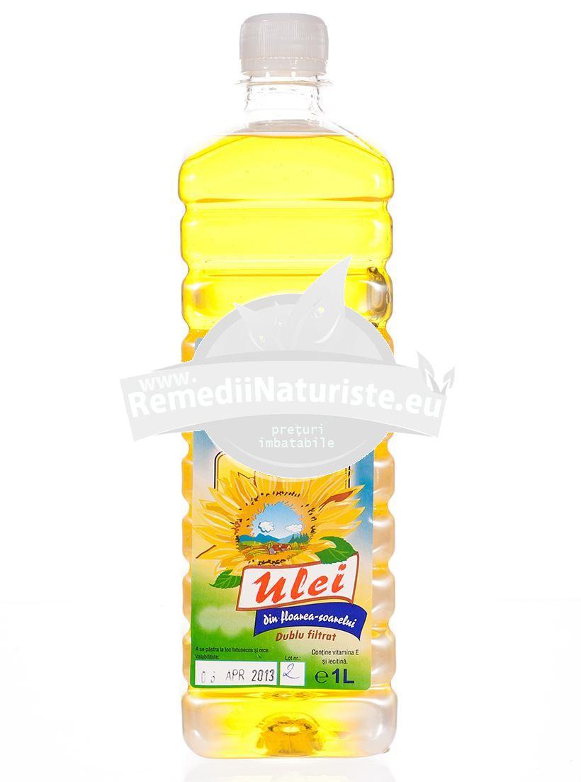 tratamentul cu ulei de floarea soarelui