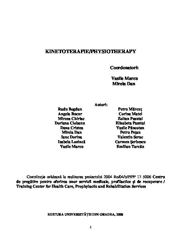Protocol de recuperare pentru entorsa de glezna
