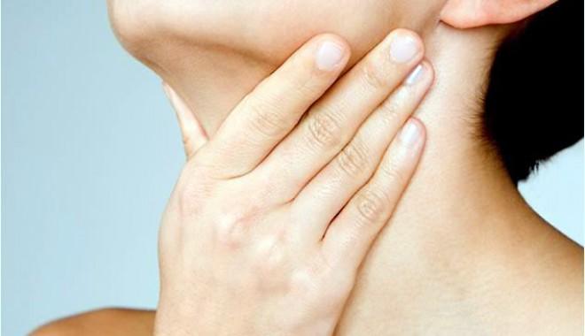 dureri musculare la nivelul gâtului