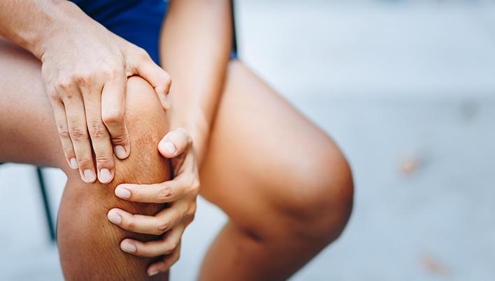 umflarea tratamentului articulației genunchiului cu dimexid