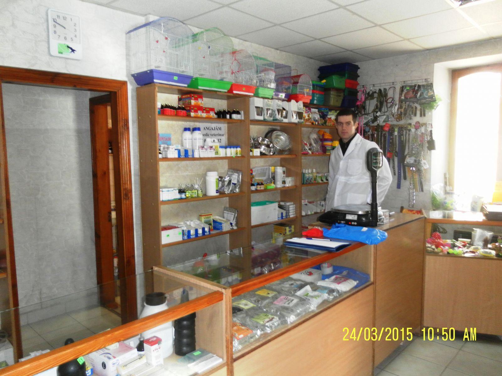 medicamente comune într-o farmacie veterinară